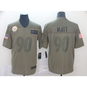 Pittsburgh Steelers T.J. Watt Jersey